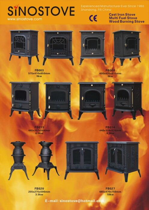 CAST IRON MULTI FUEL STOVES