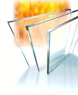 FIREPLACE HIGH TEMP RESISTANT GLASS
